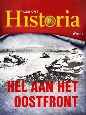 cover image of Hel aan het oostfront