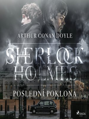 cover image of Poslední poklona Sherlocka Holmese