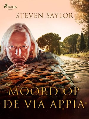 cover image of Moord op de Via Appia