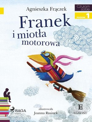 cover image of Franek i miotła motorowa