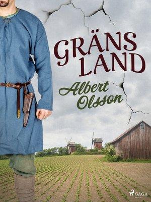 cover image of Gränsland