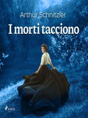 cover image of I morti tacciono
