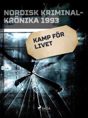 cover image of Kamp för livet