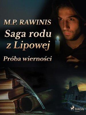 cover image of Saga rodu z Lipowej 31