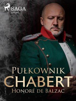 cover image of Pułkownik Chabert