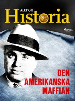 cover image of Den amerikanska maffian
