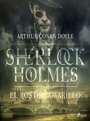 cover image of El rostro amarillo--Dramatizado
