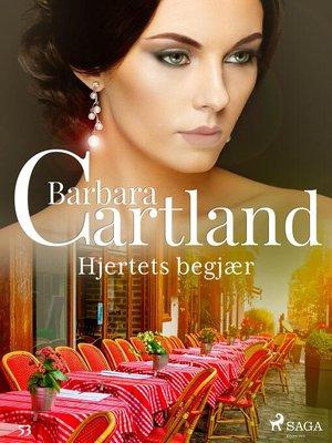 cover image of Hjertets begjær