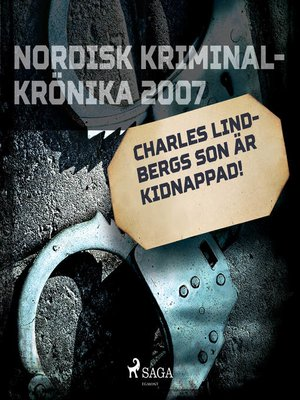 cover image of Charles Lindberghs son är kidnappad!