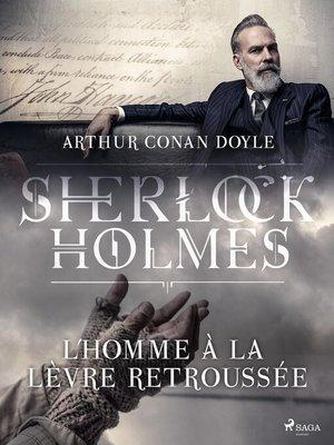 cover image of L'Homme à la lèvre retroussée