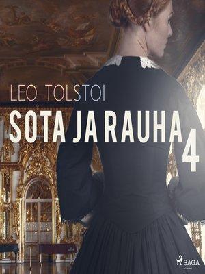 cover image of Sota ja rauha 4