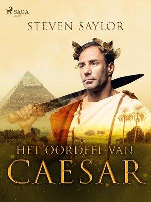 cover image of Het oordeel van Caesar