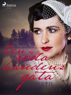 cover image of Den röda handens gåta
