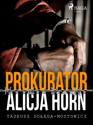 cover image of Prokurator Alicja Horn