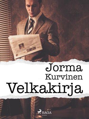 cover image of Velkakirja