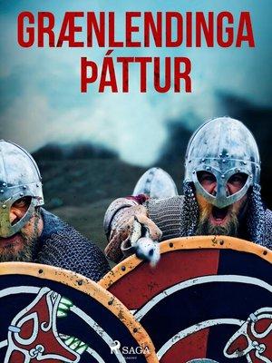 cover image of Grænlendinga þáttur