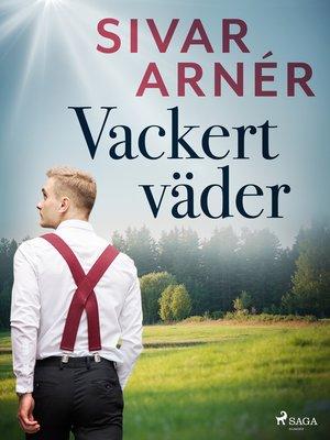 cover image of Vackert väder