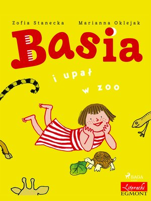cover image of Basia i upał w ZOO