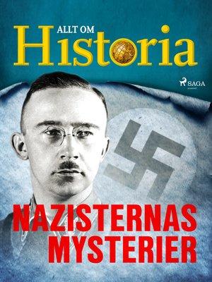 cover image of Nazisternas mysterier