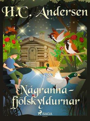 cover image of Nágrannafjölskyldurnar