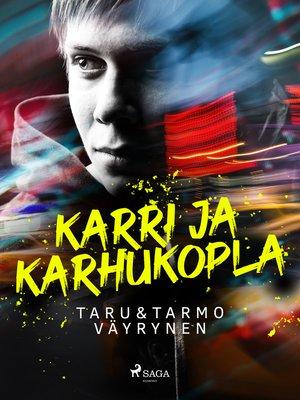 cover image of Karri ja karhukopla