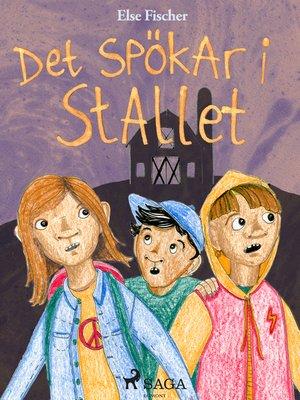 cover image of Det spökar i stallet