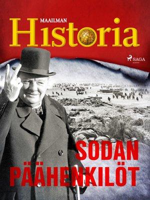 cover image of Sodan päähenkilöt
