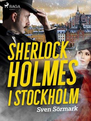 cover image of Sherlock Holmes i Stockholm