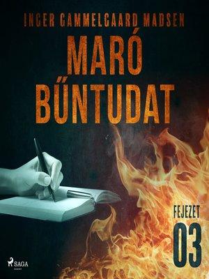 cover image of Maró bűntudat – 3. fejezet
