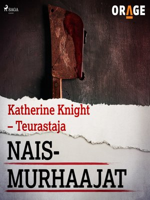 cover image of Katherine Knight – Teurastaja