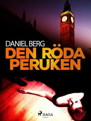 cover image of Den röda peruken
