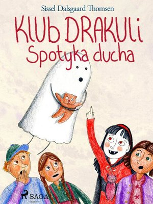 cover image of Klub Drakuli spotyka ducha