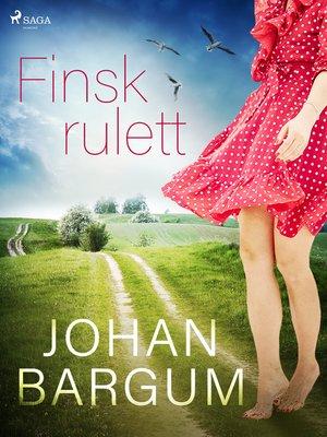 cover image of Finsk rulett