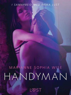 cover image of Handyman--en erotisk novelle