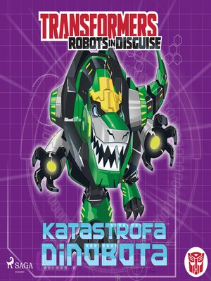 cover image of Transformers – Robots in Disguise – Katastrofa Dinobota