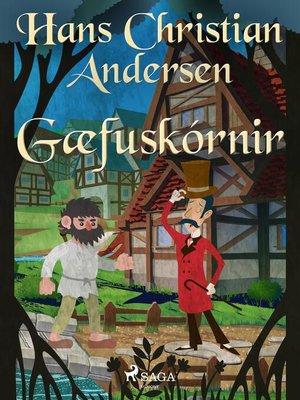 cover image of Gæfuskórnir