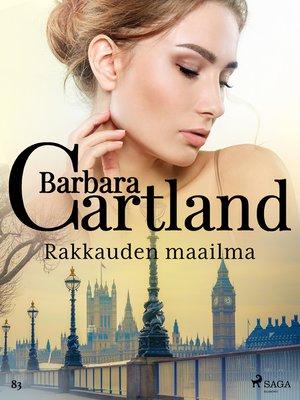 cover image of Rakkauden maailma
