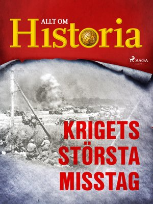 cover image of Krigets största misstag