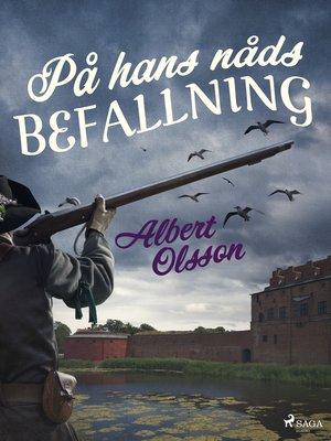 cover image of På hans nåds befallning