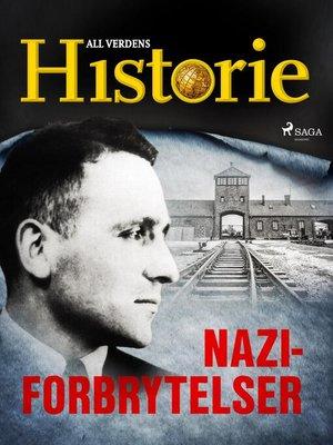 cover image of Naziforbrytelser