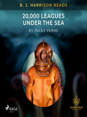 cover image of B. J. Harrison Reads 20,000 Leagues Under the Sea