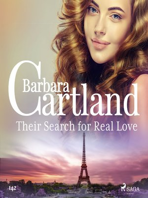 cover image of Their Search for Real Love (Barbara Cartland's Pink Collection 142)
