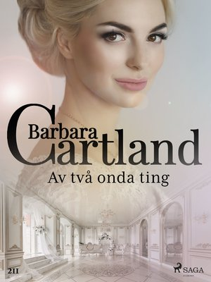 cover image of Av två onda ting