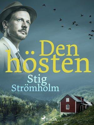 cover image of Den hösten
