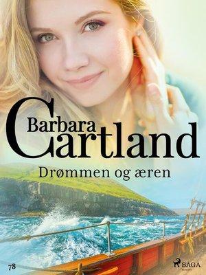 cover image of Drømmen og æren