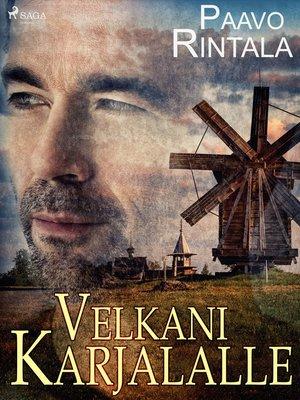 cover image of Velkani Karjalalle