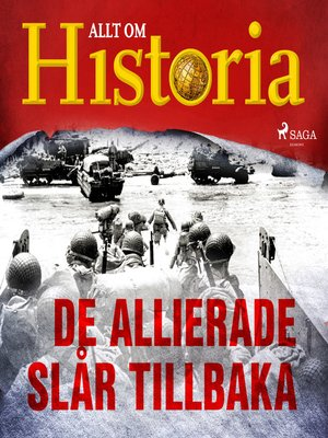 cover image of De allierade slår tillbaka