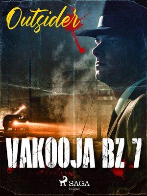 cover image of Vakooja BZ 7