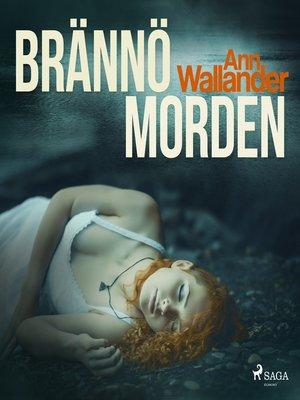 cover image of Brännömorden