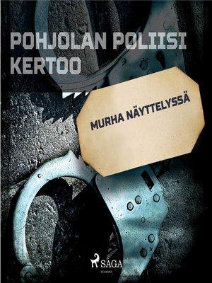 cover image of Murha näyttelyssä